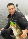 2 dagen werpend vissen op groot water