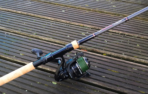 De Dam Effzett Pike Deadbait stokken in combinatie met de Dam Quick Victor 950 molens, een heerlijke set om mee te doodazen!