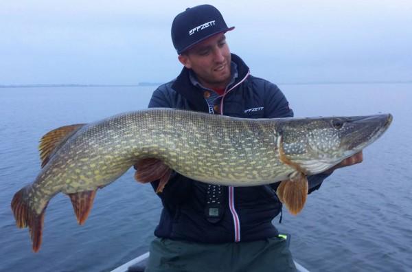 Mooie massieve vis van 109 cm
